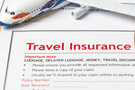 international travel insurance paperwork